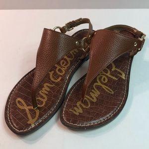 Sam Edelman Greta flat sandals brown size 9 NEW